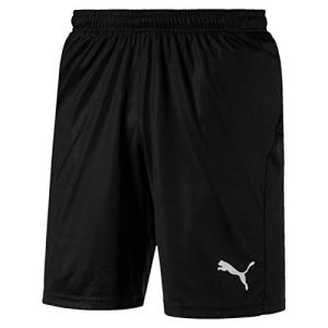 PUMA Liga Shorts Core with Brief Pantaloncini Uomo Nero Black White XXL