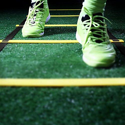 Rehomy Scaletta Agilit Allenamento velocit Footwork Esercizio per Calcio Calcio Sport 13 Gradini