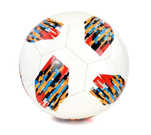 Ronex Spyro Pallone da Calcio Alta qualit con 4 Strati Taglia 5 Multicolore3 5