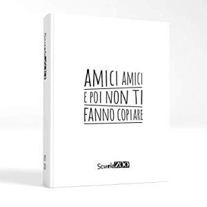 ScuolaZoo Agenda Diario Scolastico 2019 2020 con Meme divertentissimi e Tanti Adesivi Disponibile in 6 Colori e 3 Dimensioni Bianco Giant