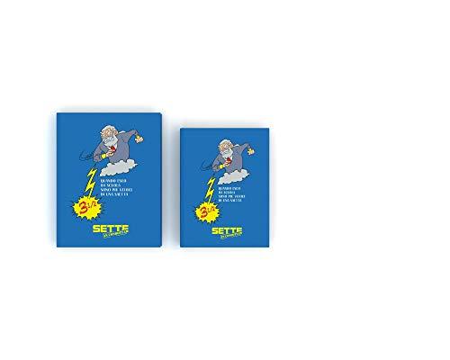Sette in Condotta Diario Agenda Scolastico 20192020 Blu Classic