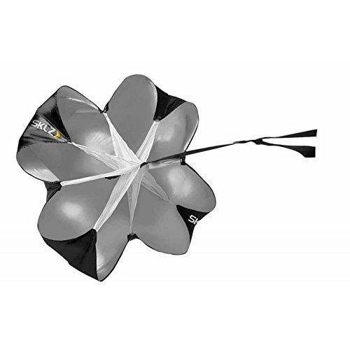 SKLZ Speed Chute Paracadute per Allenare Esplosivit e velocit Unisex Adulto Grigio Taglia Unica