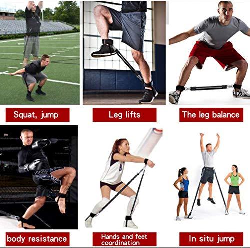 Sunsign di Forza e Agilit Training Strap System Forza di Allenamento Corda per Il Calcio Basket Taekwondo Yoga Boxing Equipment Arancione