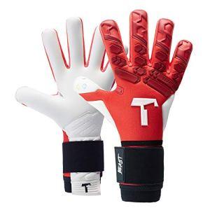 T1TAN Red Beast 20 Guanti da Portiere con Stecche di Protezione  utilizzati in Serie A  Modelli per Uomo  Adulto  Taglia 8