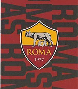 Telo Mare 100 Spugna di Puro Cotone Cinigliata Ufficiale Roma AS Originale Maxi cm 90 x 170