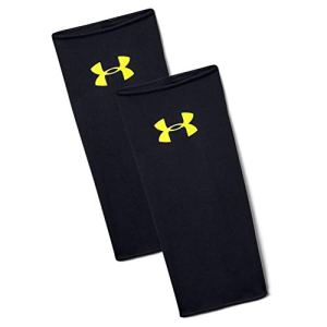 Under Armour Shinguard Sleeves Parastinchi Uomo Nero BlackHighVis Yellow M