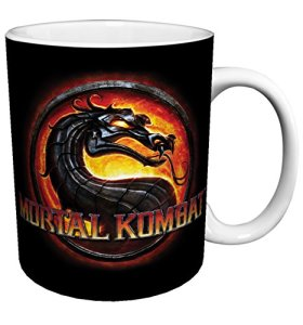 Mortal Kombat MK9 Logo Fighting Video Game Gamer Ceramic Gift Coffee (Tea, Cocoa) 11 Oz. Mug by Culturenik