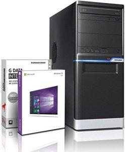 Shinobee PC Gamer / Multimédia – Unité centrale pour ordinateur de bureau (Processeur AMD A10-7700K 4 x 3.8GHz Turbo – Mémoire RAM 8GB – 8192MB DDR3 – DD 1TB S-ATA II HDD – AMD Radeon intégrée HD R7 4096 MB DVI/VGA avec technologie DirectX12 – USB3 – Lecteur graveur DVD – 6 ports USB – Windows 10 64 Bits) #5673