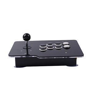 Cewaal Zero Delay USB Arcade Game Jeu vidéo 8 Directions Manette Joystick Controller Pour PC Android