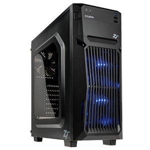 Sedatech PC Gamer Advanced AMD Athlon II 840 4X 3.1Ghz, Geforce GTX1050Ti 4Go, 8Go RAM DDR3, 240Go SSD, 1To HDD, USB 3.0, WiFi, HDMI 2.0, Résolution 4K. Unité Centrale & Windows 10