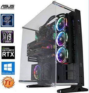 Snogard Ultra Gaming Intel Core i9–7900x | 64Go DDR4| 2x 1TB M2SSD | 11Go NVIDIA GeForce GTX 1080Ti SLI | Windows 10pro Gamer PC