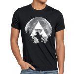 A.N.T. Link Epona T-Shirt Homme Zelda Ocarina, Taille:2XL