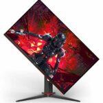 AOC Gaming 27G2 Moniteur de Gaming (FHD, HDMI, DisplayPort, Free-Sync, Temps de réponse 1 ms, 144 Hz, 1920 x 1080) Noir/Rouge 80 cm