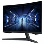 SAMSUNG ODYSSEY G5 27» Ecran PC Gaming Incurvé 1000R, Dalle VA 27″, Résolution WQHD (2560 x 1440), 144 Hz, 1ms, AMD FreeSync, HDR10, Noir