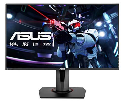 ASUS VG279Q – Ecran PC gaming eSport 27″ FHD – Dalle IPS – 16:9 – 144Hz – 1ms – 1920×1080 – 400cd/m² – Display Port, HDMI et DVI – Haut-parleurs – AMD FreeSync