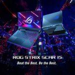 ASUS ROG Strix Scar 15 Gaming Laptop, 15.6″ 300HZ IPS FHD, AMD Ryzen 7 5800H, NIVIDA RTX3080 16GB DDR4 RAM, 1TB SSD, American English Opti-Mechanical RGB Keyboard
