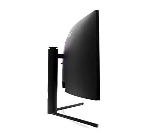 Millenium MD34PRO – Moniteur incurvé Gaming 34″ QHD (3440×1440, 144 Hz, 1ms, VA, QLED, 350cd/m2, HDR400, 21:9, 2X HDMI, 2X écran Port) Noir