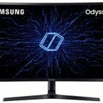 SAMSUNG C32HG70, Ecran PC Gaming incurvé, Dalle VA 32 » WQHD (2560 x 1440), 144 Hz, 1ms, HDR 600, Qled, AMD Freesync, Noir