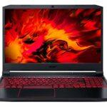 Acer Nitro 5 AN515-55-51Q4 Ordinateur Portable Gaming 15,6» FHD IPS 60 Hz, PC Portable Gamer (Intel Core I5-10300H, NVIDIA GeForce GTX 1650Ti, RAM 8 Go, 512 Go SSD, Windows 10) – Clavier AZERTY, Noir