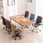 Chaise de Bureau Chaise de bureau avec armes, chaise de bureau, chaises d'ordinateur, chaise de jeu vidéo Chaises pivotantes (Color : Black)