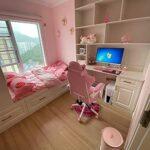 Chaise de jeu vidéo pour adulte avec appui-tête réglable en hauteur, ergonomique, rotative, en cuir, chaise de bureau à domicile