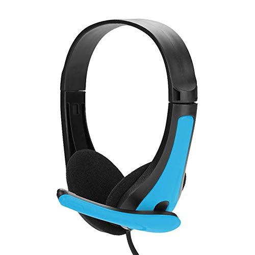 PANYUE Gaming Casque Stéréo avec 3.5MM Mic Basse Écouteurs pour Ordinateur PC Gamer