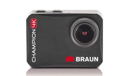 Braun Champion 4K: Neue ActionCam mit Full HD und Ultra HD Modus