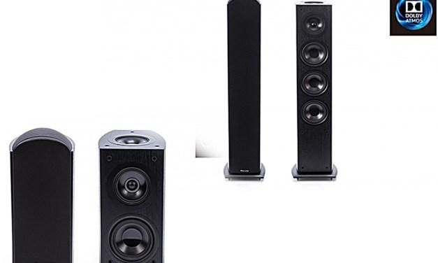 Pioneer-Boxen stopfen Dolby-Atmos-Lücken komplett oder in zwei Größen