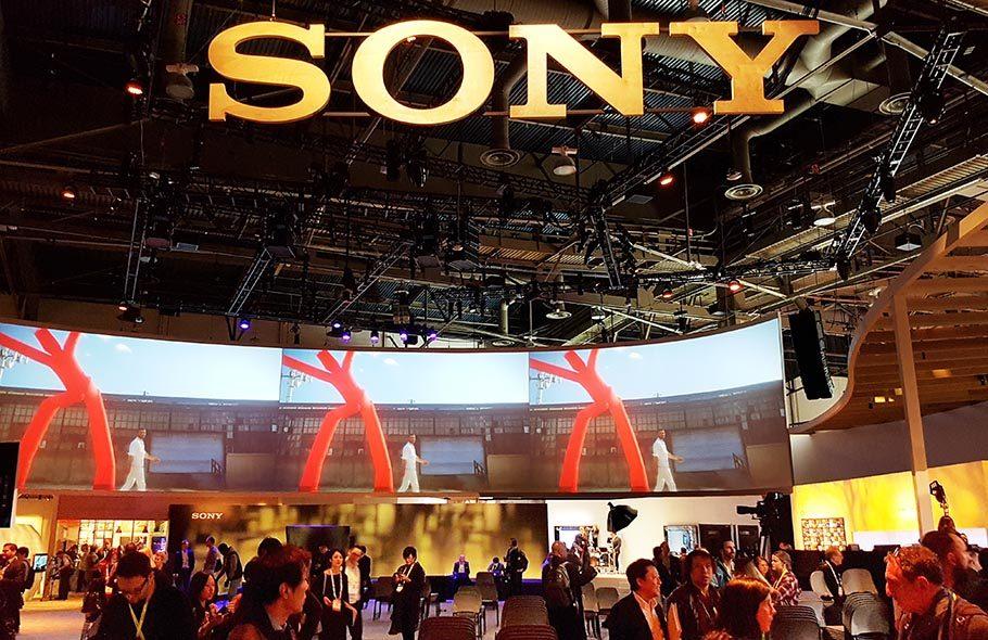 Ein Blick in Sonys Showroom. Fotos: Byron Jochims