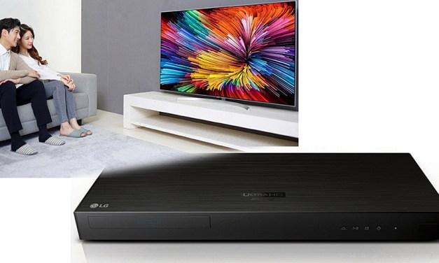 LG bringt Nanozellen LCD-Fernseher und UHD Blu-ray Player auf den Markt