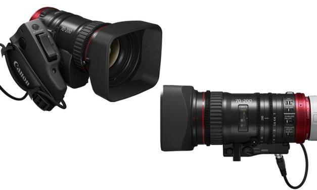Canon vervollständigt Cine-Servo-Objektivserie mit 70-200 Millimeter-Zoom