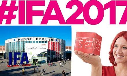 Die IFA 2017 in Berlin gestattet Besuchern einen Blick in die Zukunft