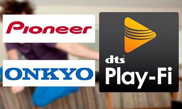 Onkyo und Pioneer rüsten AV-Geräte mit DTS Play-Fi Updates auf