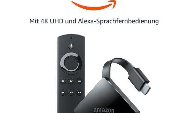Amazon Fire TV 4K 2017 offiziell vorgestellt