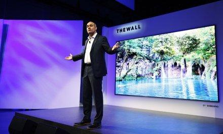"""""""The Wall"""": Samsung verwendet MicroLEDs für Monsterbildschirme"""