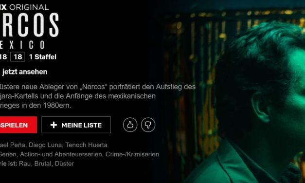 Narcos: Mexico ab sofort bei Netflix verfügbar