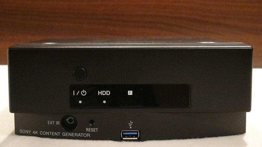 4K Content Creator im Sony X9 Test