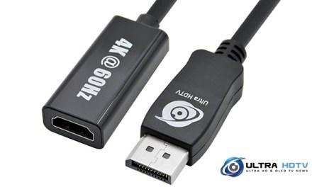 DisplayPort 1.2 auf HDMI 2.0 Adapter mit 4K @ 60Hz-Support vorgestellt
