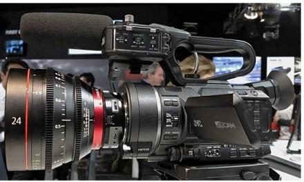 IBC 2014: JVC zeigt 4K-Handheld Prototyp GY-LS300