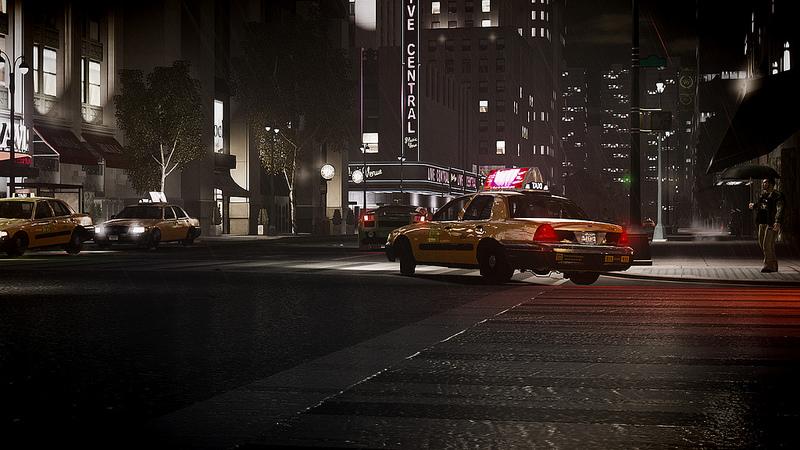 GTA 4 4K Taxi