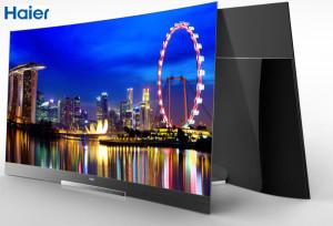 Nicht nur Haier 4K Fernseher, auch Curved OLED-TVs kommen.