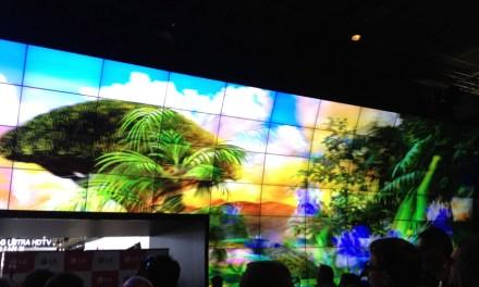 LG auf der IFA 2013: curved OLED, Ultra HDTV und 3D-Wall