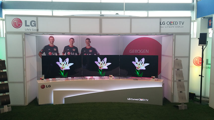 LG Curved OLED TV Roadshow 2014