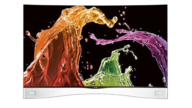 LG curved TVs