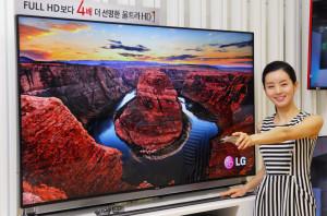 LG LA9700 4K-TV