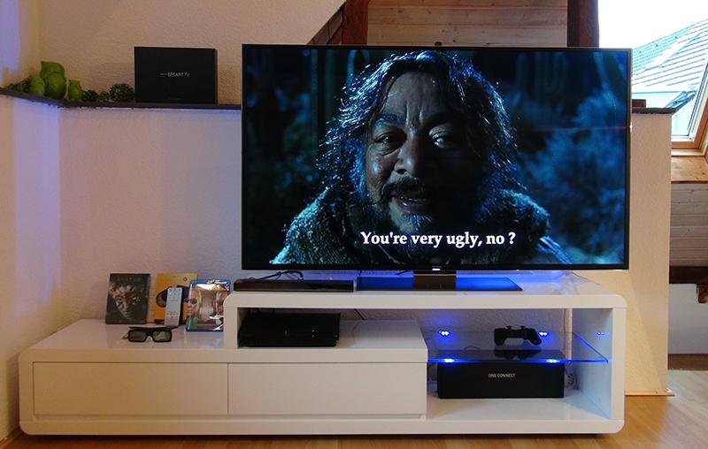 Samsung UE55F9090 Bild