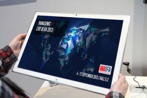 Panasonic 4K Tablet IFA 2013