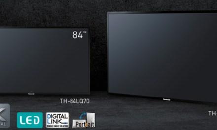 Panasonics Ultra HD 98-Zöller ist lieferbar, 84 Zoll folgen im Januar 2015