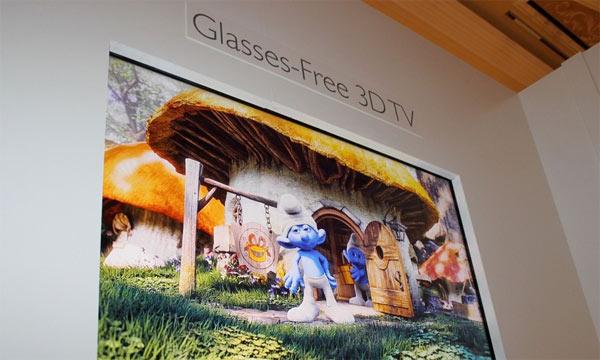 brillenfreier 4K-3D TV auf der CES 2013