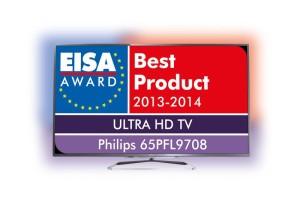 Philips 65PFL9708 gewinnt EISA Award